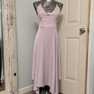 Kimchi Blue Urban Outfitters purple midi dress sz6